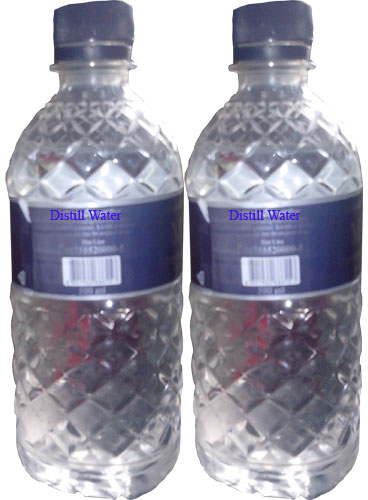 the effectiveness of distilled water and Effect of demineralized water on carbon steel and stainless steel  this behaviour was explained based on that demi and distilled water might be considered as hungry water in which it wants.
