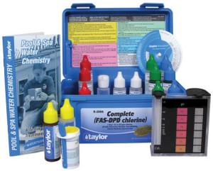pool water test kit