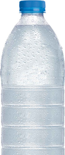 bubbles in bottled water