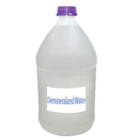 Demineralization of water - dm water