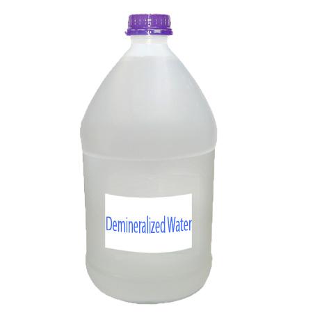 Demineralization of water - dm water