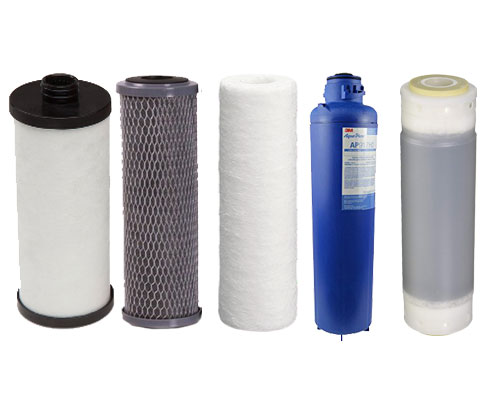 change a whole house water filter cartridge